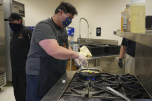 Cooking in the culinary classroom